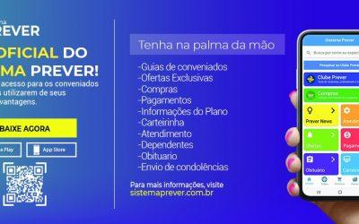 Sistema Prever disponibiliza aplicativo oficial para serviços on-line