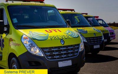 Serviço de ambulância Sistema Prever pode ser agendado pelo 0800